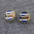 XQ XQ Free shipping 2015 Europe and the United States trade exaggerated personality creative alligator Stud Earrings