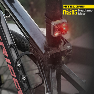 Image 3 - Nitecore NU05 LED Lightweight  Headlamp 35 Lumen White / Red Light High Performance USB Rechargeable Outdoor Cycling Headlight F