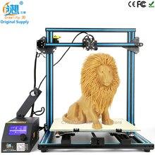 CREALITY 3D CR-10 3D принтер 500 мм I3 Мега полный металлический каркас красочные промышленного класса с высокой точностью доступное 3d печати