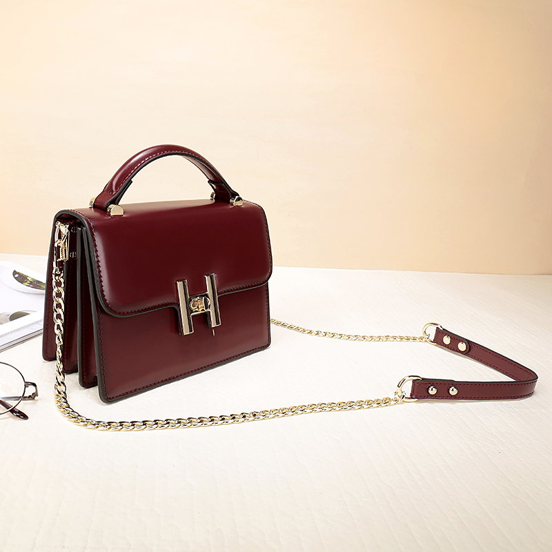 Brand 2017 Women business Shoulder Handbags Female Genuine Cow Leather Solid Tot