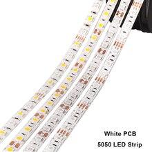 RGB LED Strip 12V 5050 LED Strip Waterproof 220V to DC12V 5M 300LED RGB RGBW RGBWW Flexible Neon Ribbon Tape Fita Tira LED Light