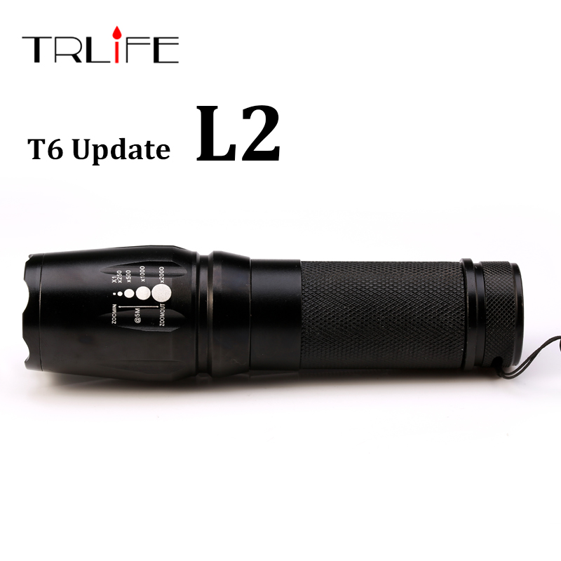 2017 New Tactical Flashlight E97 X800 CREE XM-L L2 5000 Lumens led Torch Zoomable LED light Lamp by 3xAAA or 1x18650 or 26650 3000 lumens zoomable cree xm l t6 led tactical flashlight torch zoom lamp light waterproof led 5 modes for 1x18650 3xaaa