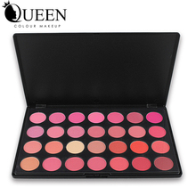 QUEEN Brand Professional Blush Palette 28 Colors Makeup Rouge in Matte and Shimmer Baeuty Make up Blush AB28