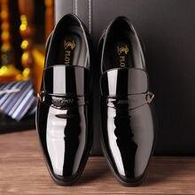 0689fb47c6db6 ACEBUY2 الرجال اللباس الأحذية الصيف الرجال أحذية من الجلد الرجال الأعمال  اللباس أحذية الجوف أحذية رجالي مثقب الصنادل تنفس