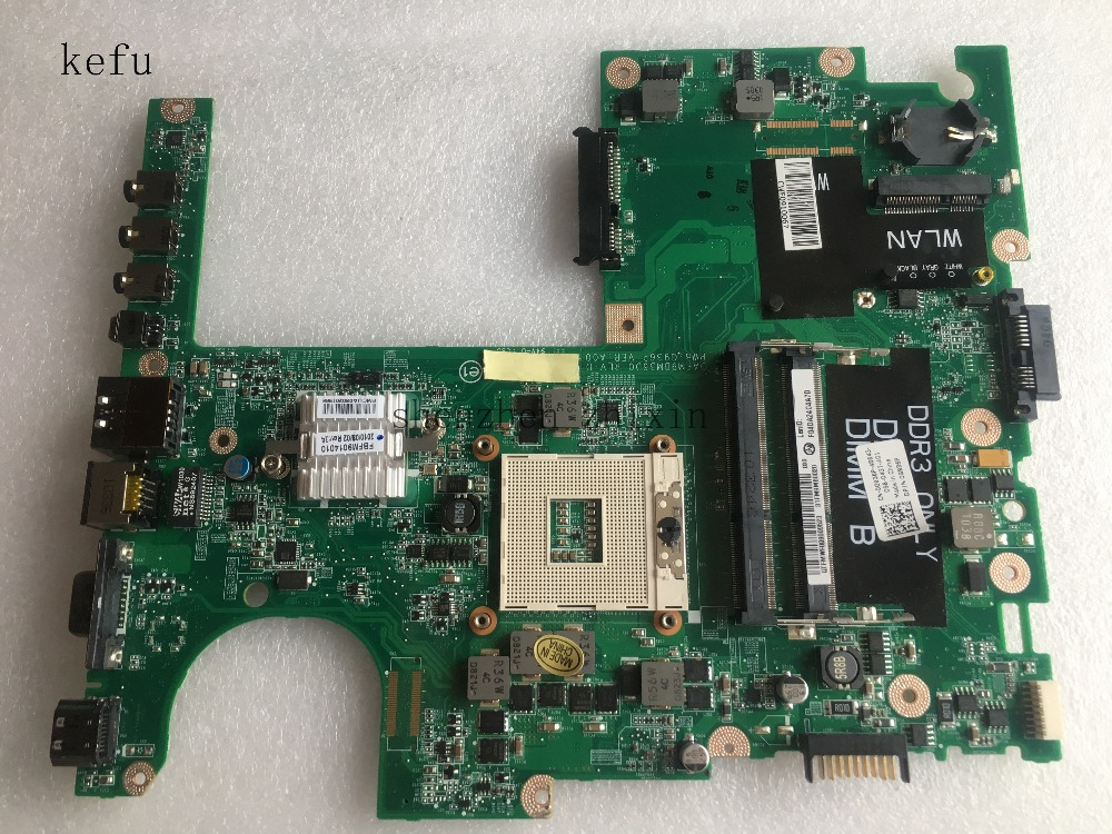 KEFU For Dell Studio 15 1558 Laptop motherboard CN-0G936P 0G936P HM57 DDR3 Test good