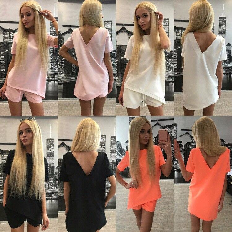 2017 Moterų mados nauji grynos spalvos laisvalaikio kelnės - Moteriški drabužiai - Nuotrauka 5