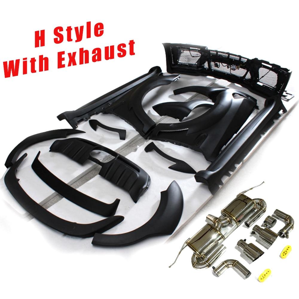 Bmw X6 Xdrive50i Price: ONLY $1590.42!!! Negro Cartilla De FRP Kit De Cuerpo Kits