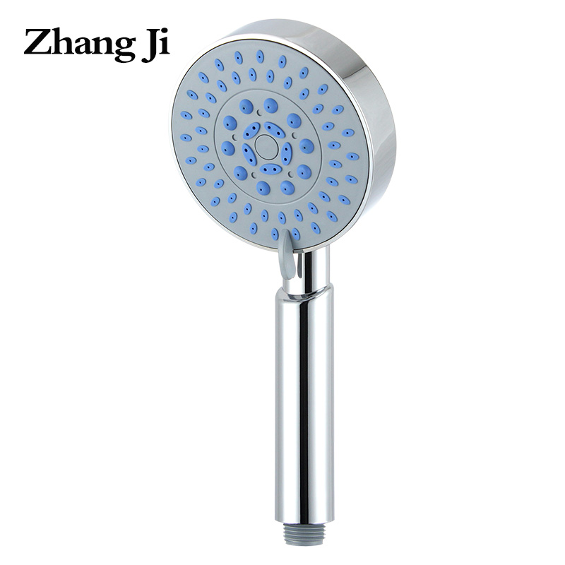 ZhangJi 5 function abs handheld shower Multiple spray modes round bath rainfall shower heads 3.93 inch water-saving showerhead ikiv folding blade pocket knife stone wash s35vn blade titanium handle hunting tactical knives camping outdoor knife edc tools