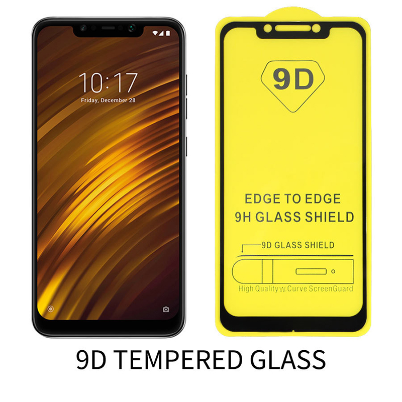 Felkin 9D Tempered Protective Glass For Xiaomi 10 9 SE Pocophone F1 Redmi Note 8 7 Pro Screen Protector For Xiaomi 10 9 Poco F1