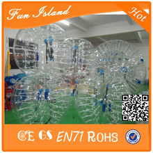 Cheapest Crazy Best Material TPU Inflatable Body Bumper Ball,Bubble Soccer Ball,Bubble Ball For Football