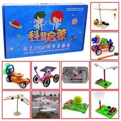Promotie Pack 3 # Diy Speelgoed Tien Soorten Verschillende Elektronica Onderwijs Self Assembly Kit Voor: science Diy Kits Kind