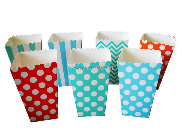 500pcs Polka Dot Paper Candy Box Birthday Party Decorations Kids Baby  Shower Goodie Bag Gift Cupcake