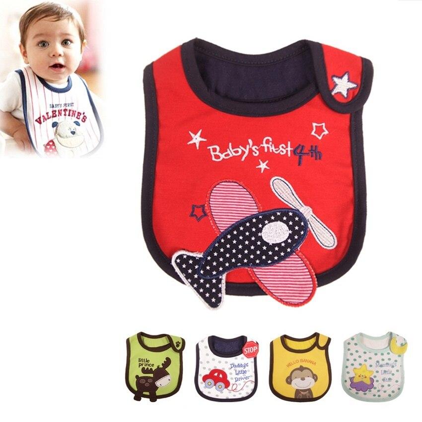 UNIKIDS/оптовая продажа 2015 для маленьких девочек полотенце для мальчика вытирания слюней младенцев Водонепроницаемый новые детские, животные ...