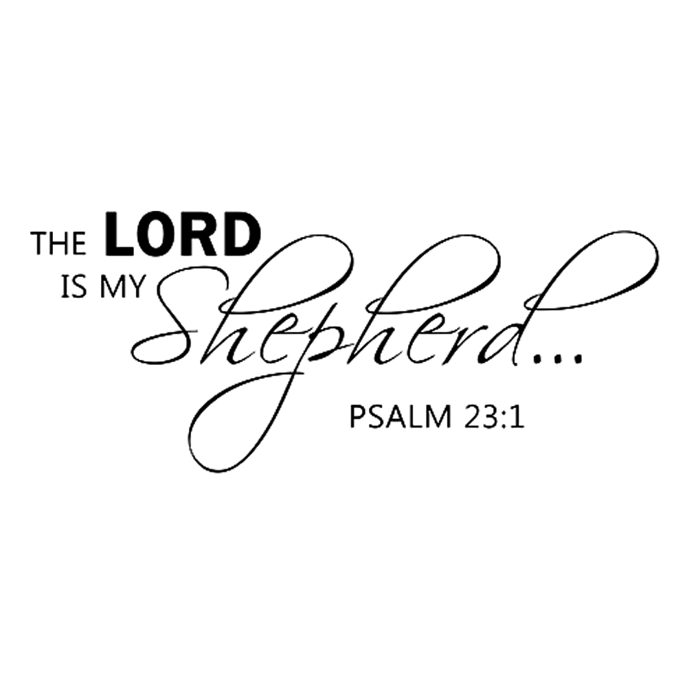 the lord is my shepherd psalm 23 1 scripture bible verse religious