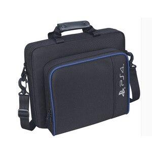 Image 4 - สำหรับ PS4 / PS4 Pro Slim เกมระบบ Original ขนาดสำหรับ PlayStation 4 คอนโซลป้องกันไหล่กระเป๋าถือกระเป๋าถือกรณีผ้าใบ