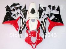 100% Подходит для Инъекций красный белый черный Обтекатель наборы для HONDA CBR600RR 07 08 F5 2007 2008 CBR 600 RR 07 08 2007 2008 обтекатели # 22SEA