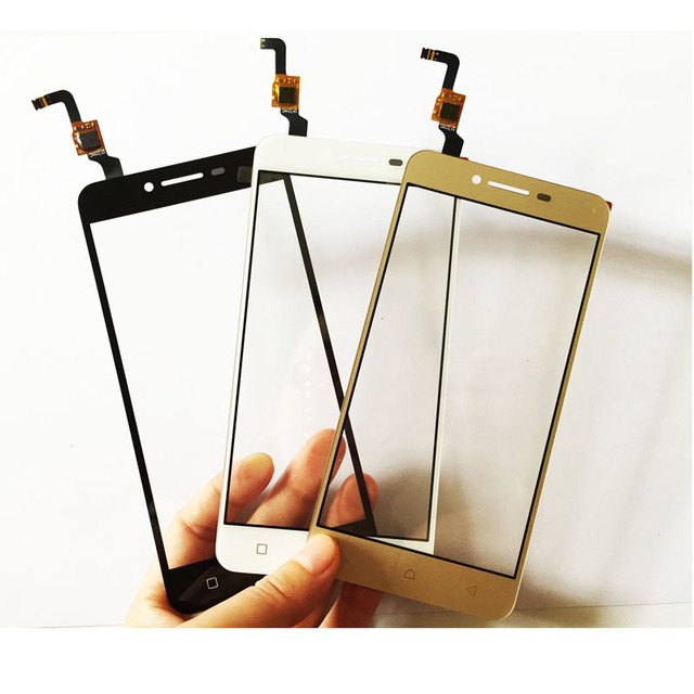 Black/White/Gold For Lenovo Vibe K5 Plus A6020 A6020a46 A6020a40 Touch Screen Glass Digitizer Panel With Flex Cable Replacement