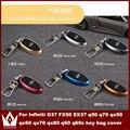 Ночь Господь Для Infiniti FX50 G37 EX37 q50 q70 qx50 qx60 qx70 qx80 q60 q60s алюминиевого сплава ключ защиты оболочки/футляры для ключей мешок крышка