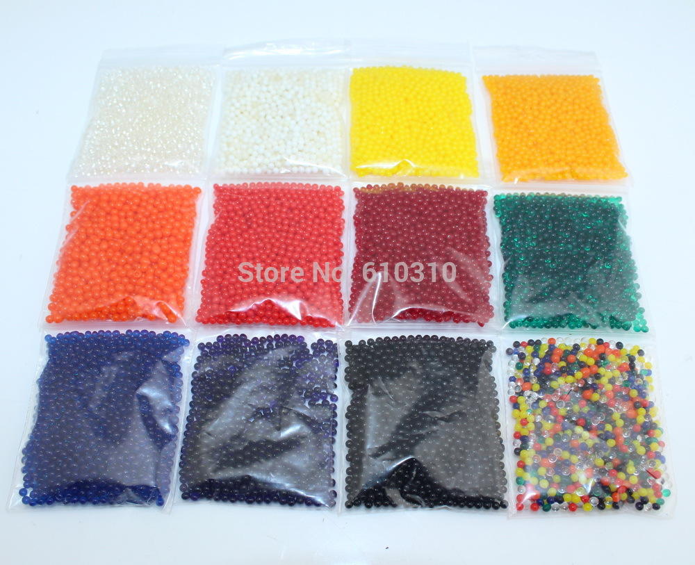 Free Shipping 2.5mm to 3mm Crystal soil/Crystal ball/sea baby grow up 10-20mm hydrogel beads water holder 10000PCS/lot
