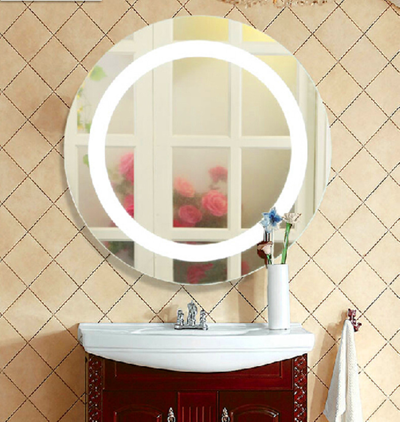 Silver Bathroom Led Mirror Light Mirror Led Lamp Modern