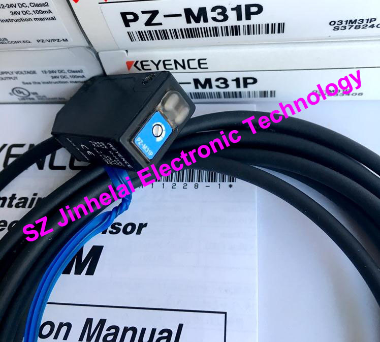100% New and original  PZ-M31P  KEYENCE  Photoelectric switch, Photoelectric sensor  PNP output new and original zr 350n optex photoelectric switch photoelectric sensor