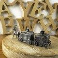 Новая Мода Резьба Милый Ребенок молочные зубы коробка Металла предметы прикладного искусства прекрасный новорожденного плода волос подарочной Коробке лучший подарок на день рождения для ребенка