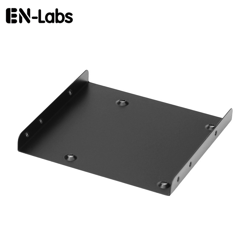 2.5 To 3.5 Inch Hard Drive Adapter Mount Bracket W/Screws,HDD Caddy 2.5 SSD To 3.5 Tray Holder Converter