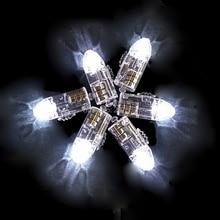 12 шт./лот теплый белый Мини светодиодный шар лампа светодиодный шар светильник бумажный фонарь воздушный шар цветочный для украшения свадебной вечеринки