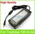 19 В dip-6.3a 120 Вт AC ноутбук адаптер питания для Toshiba C70 с75 C870 C875 L350 L355 L670 L675 L70 L75D L770 зарядное устройство
