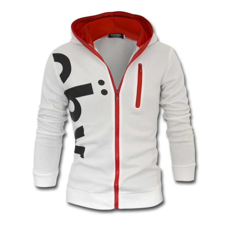 Brand Men S Zipper Jachet Coat Fashion Hoodies Sportsear