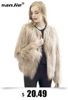 d968027a39 Warm winter faux fur coats women autumn winter faux fur overcoat outerwear  jacket ladies black white plus size
