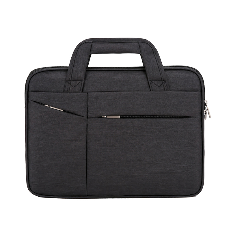 16in Men Simple Briefcase Oxford Cloth Waterproof Wear-resistant Laptop Bag Best Sale-WT