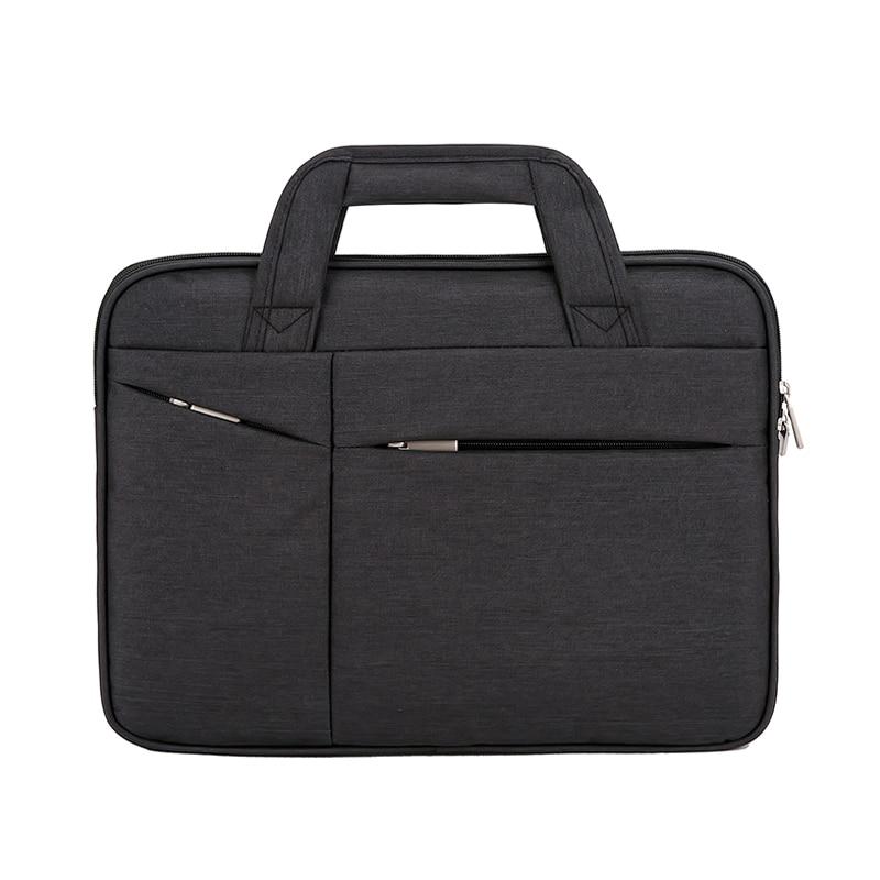 16in Men Simple Briefcase Oxford Cloth Waterproof Wear-resistant Laptop Bag Best Sale-WT