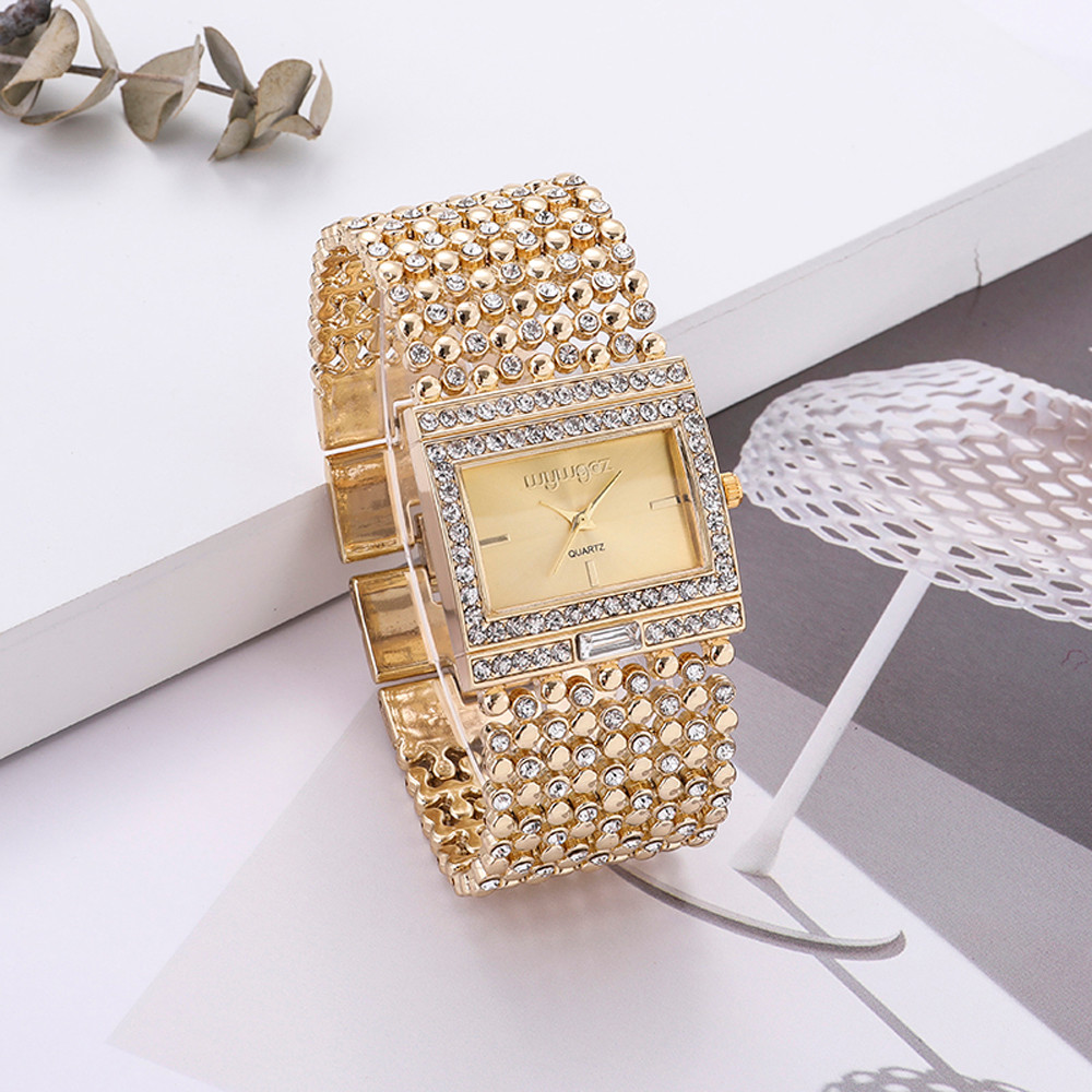 Fashion Rose Gold Women's Watches Bracelet Watch Women Watches Luxury Diamond Ladies Watch Clock Reloj Mujer Relogio Feminino LD