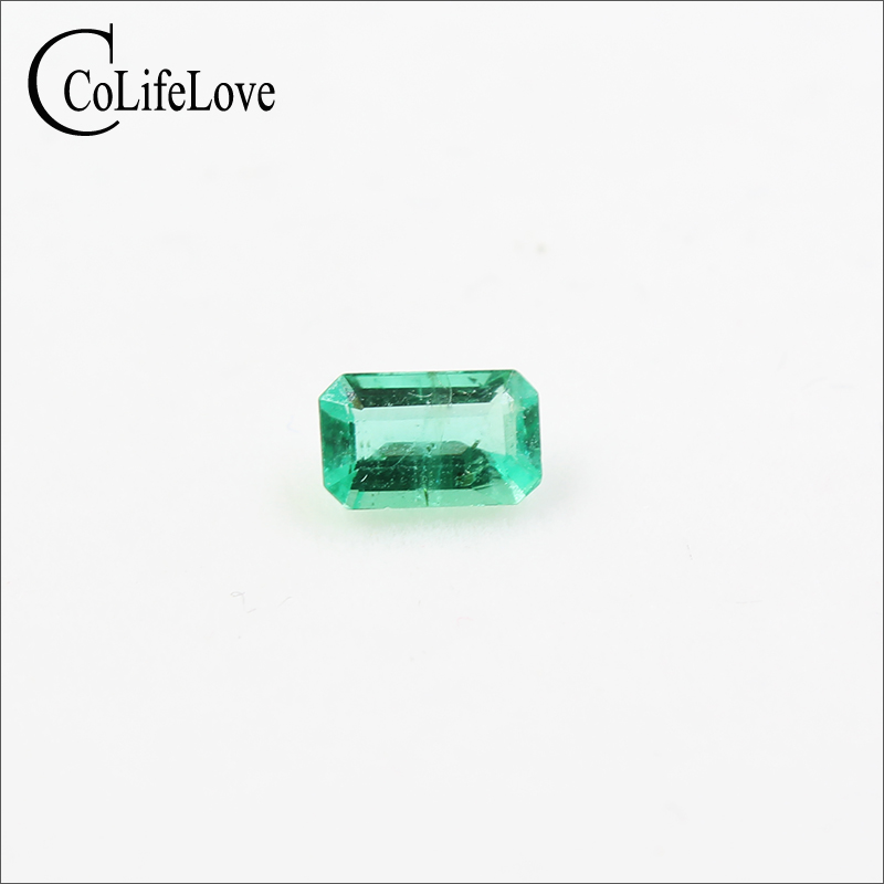 0.4 ct natural emerald loose stone for engagement ring 4 mm * 6 mm real emerald jewelry DIY0.4 ct natural emerald loose stone for engagement ring 4 mm * 6 mm real emerald jewelry DIY