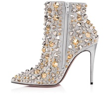 high quality lady rivets studded belt fasten knee high suede leather autumn fashion round toe flat heel woman botas shoes
