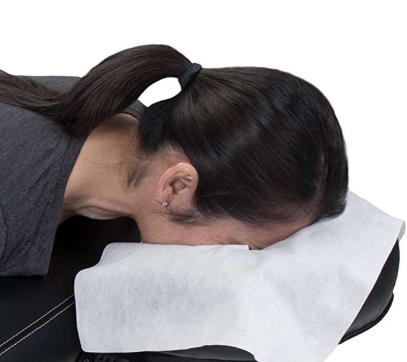Helder Wegwerp Massage Gezicht Covers Cross Gat Handdoek Voor Massage Tafels & Massage Stoelen 100 Pcs Per Zak Tt013 Bespaar 50-70%