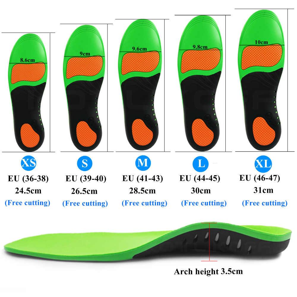 KOTLIKOFF Высококачественные Ортопедические стельки eva для плоских ног супинатор ортопедический обувь вставки в обувь для мужчин и женщин колодки для обуви