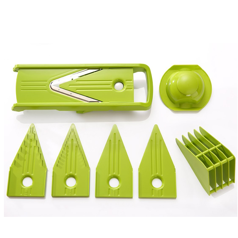 Stainless Steel Plastic Vegetable Potato Slicer Shredder Kitchen Cooking Gadget Tools Utensilios De Cozinha Vegetable Spiralizer