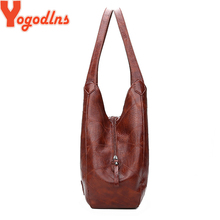 Yogodlns Vintage Womens Hand bags Designers Luxury Handbags Women Shoulder Bags Female Top-handle Bags Fashion Brand Handbags