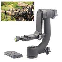 INSEESI Professional Camera Telephoto Lens Panoramic 360 Degree Gimbal Tripod Head 1/4 Screw for QZSD Q999s Q666 Zomei Tripod