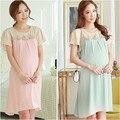 Беременные беременных платья свободного покроя беременность одежда для беременных одежда Gravida шифон длиной до колена - Vestidos лето 2015