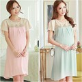 Pregnant Maternity Dresses Casual Pregnancy Clothes For Pregnant Women Clothing Gravida Chiffon Knee-length Vestidos Summer 2015