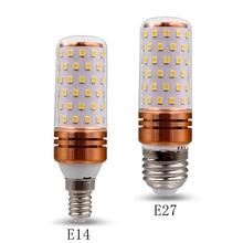 12W  LED Corn Bulb E27 E14 LED Light  220V SpotlightEnergy Saving Lamp Table Lamp Tri-tone lightWhite light Warm White