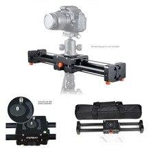 Commlite CS-V500 выдвижной видео ползунок 50 см Долли трек Стабилизатор 100 см фактическая раздвижные расстояние нагрузки до 8 кг для DSLR