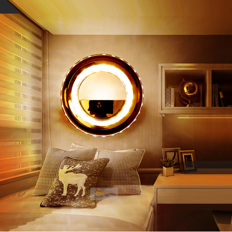 hallway led ring light Modern Living Room Bedroom Aisle Lamps Indoor Wall Lamp Home Lighting Wall Mounted LED Wall Lights modern led wall lamps living sitting room foyer bar aisle lamp acrylic bed room wall lights wall mounted sconce lighting