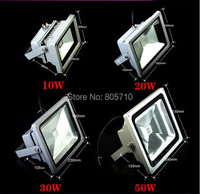 2014 Brand New 10W Blue 554nm Red 660nm Hydroponic Plant Flood LED Grow Lights Water Proof