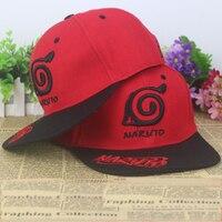 HOT SALE Anime Naruto Konoha Symbol Silk Fabrics Baseball Cap Christmas Sun Hat Cosplay Gift 2015