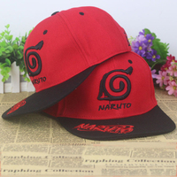 HOT SALE Anime Naruto Konoha Symbol Silk Fabrics Baseball Cap Christmas Sun Hat Cosplay Gift 2015