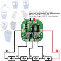 4S 20A 14.8V 16.8V Li-ion Battery18650 BMS Lithium PCM Protection PCB Board